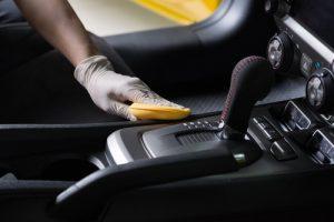Przygotowanie samochodu do czyszczenia
